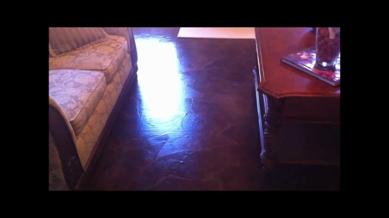 How I used brown shipping paper as Flooring  YouTube