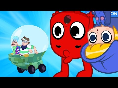 Thumbnail: Morphle and the gravity bandits -- animation episode video for kids