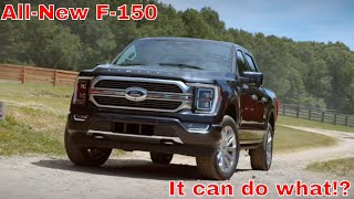 2021 Ford F-150 | All-New + Hybrid + Self-Driving!