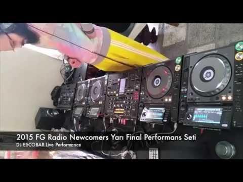 DJ Escobar @ 2015 FG Radio Newcomers Semi Final Live Performance Set