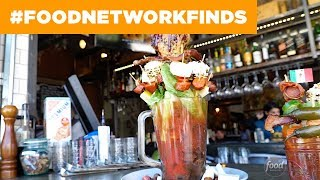 10-Pound Bloody Mary at Farmer's Table | Food Network