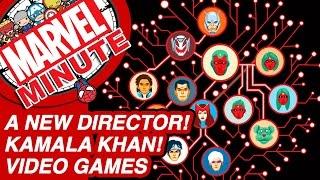 A New Director! Kamala Khan! - Marvel Minute 2016