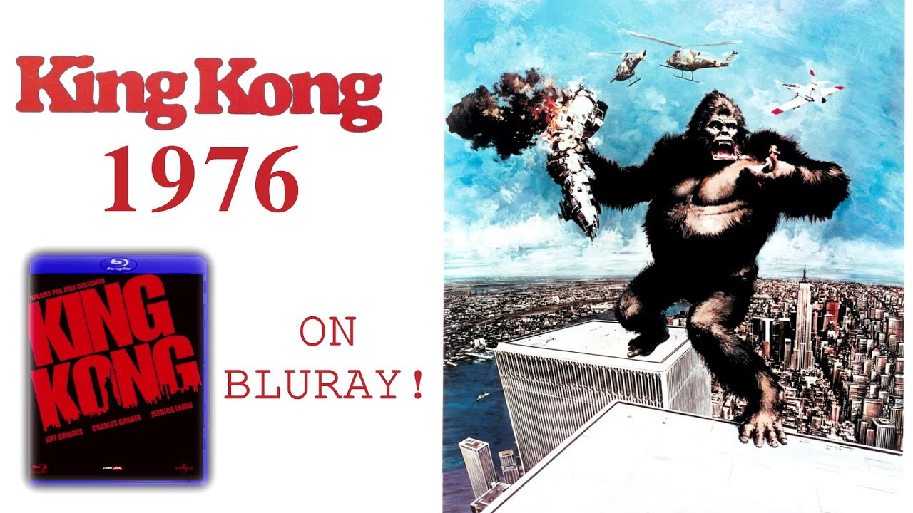 test blu ray king kong 1976