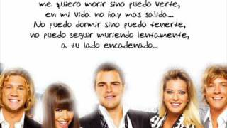 Miedo a Perderte teen angels + letra cuarta temporada 4 Casi Angeles