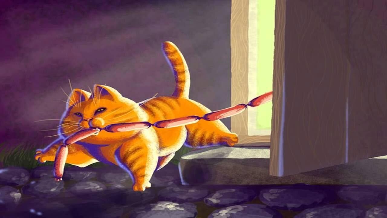 Кот ворюга картинка к рассказу