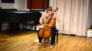 For Solo Cello by Jillian Bloom - Part III - Transition {Bloom} & Suite No. 3 in C Major {J.S. Bach}