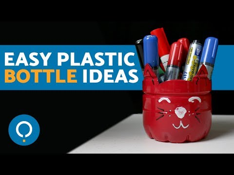 🔝 Easy DIY Plastic Bottle Crafts for Kids & Adults