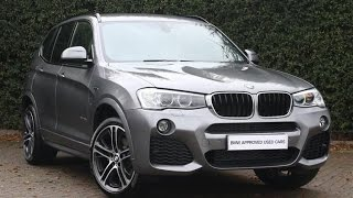 BMW X3 20D M SPORT REVIEW - New BMW Media Interface