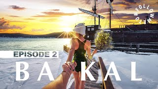 #FollowMeTo Lake Baikal. Episode #2 Ice caves Driving on ice Shamanka rock
