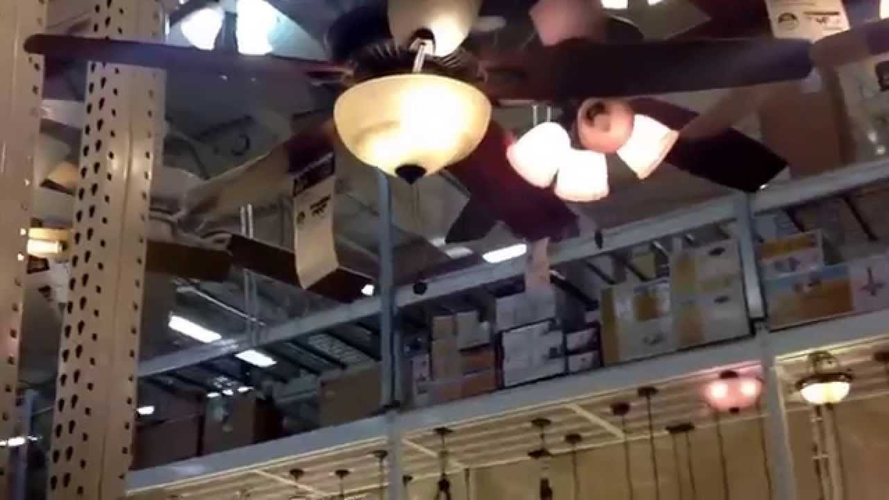 Ceiling fans at Home Depot - YouTube
