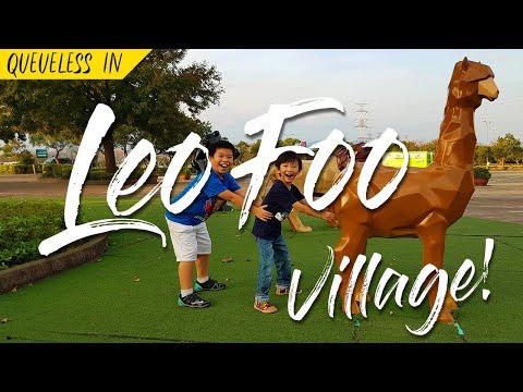 Taiwan Travels: Queueless In LeoFoo Village Theme Park! (台湾六福村)