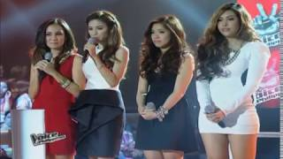 THE VOICE Philippines : MOIRA vs PENELOPE vs CARA BATTLE PERFORMANCE