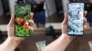 Intelligent Scan (Galaxy S9) vs Face ID (iPhone X)