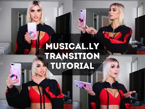 Musical.ly Transition Tutorial || Kristen Hancher