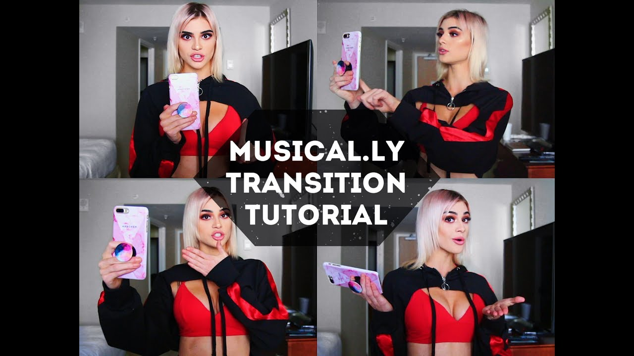 image Musical.ly Transition Tutorial || Kristen Hancher