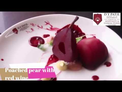 Poached Pear IN Red Wine By CHEF ASHISH