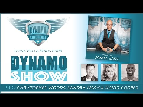 The DYNAMO Show - E15 - Christopher Woods, Sandra Nash & David Cooper