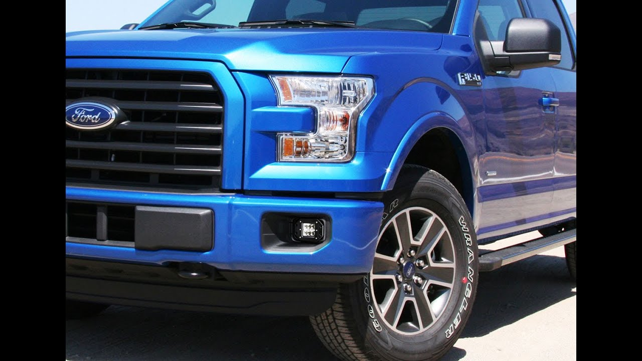 ijdmtoy 24w led fog lights for 2015 up ford f 150 install. Black Bedroom Furniture Sets. Home Design Ideas
