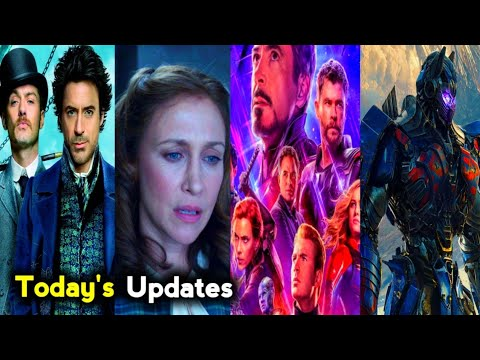 Today's Top 5 Updates About Sherlock Holmes 3 , Future Avengers , Transformers Movie in Tamil