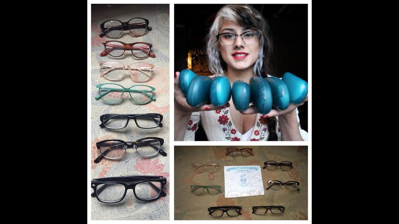 7 pairs of zenni glasses try on youtube - Zenni Frames