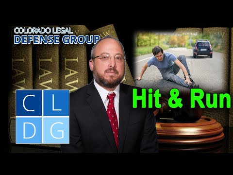 """Who can be charged with """"Hit-and-Run"""" in Colorado?"""