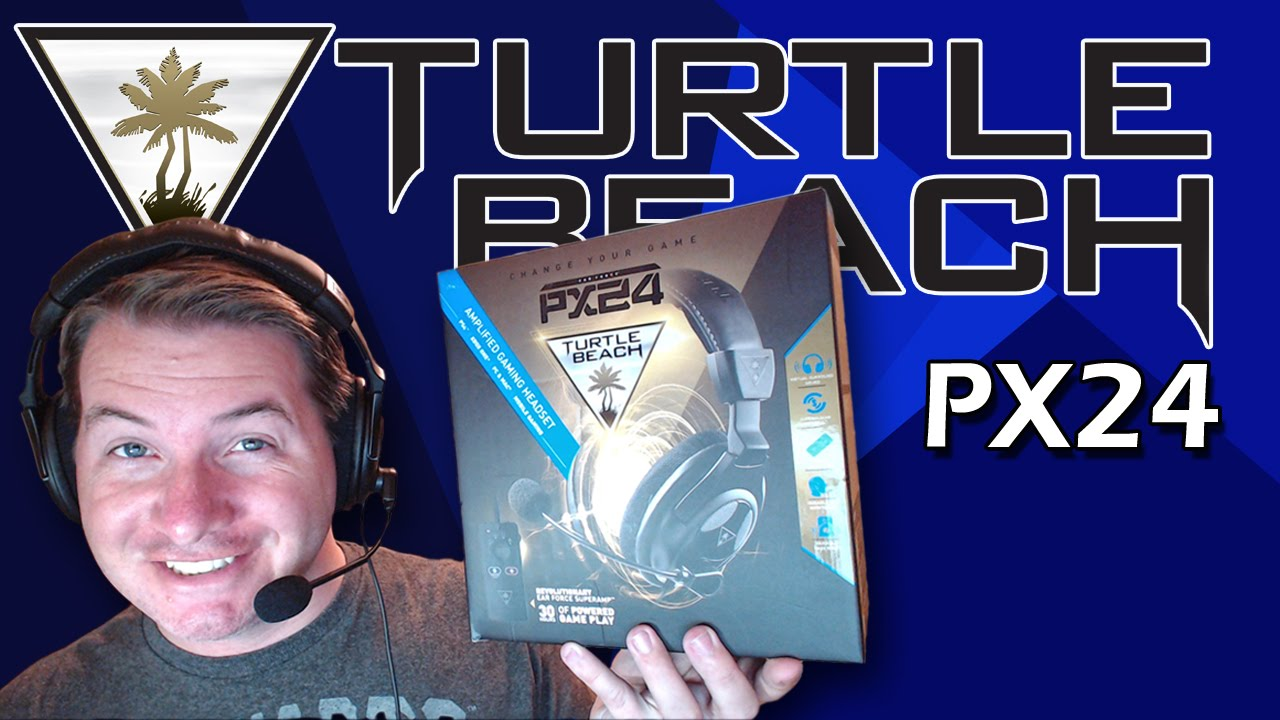 Turtle Beach PX24 Headphone REVIEW - YouTube