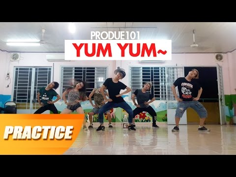Lớp học nhảy Panoma | 마카롱 꿀떡 (Macaroon Honey Dduk) - Yum Yum dance cover | Produce 101