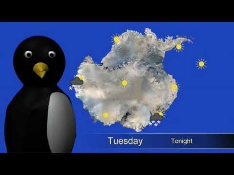 Antarctic Weather Report