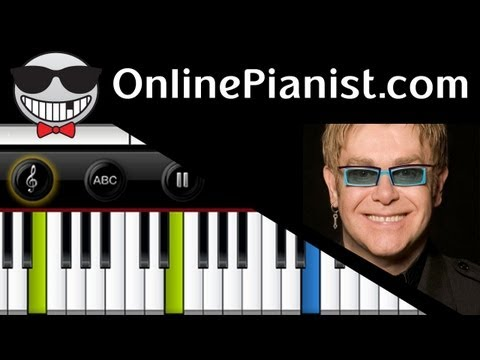 Elton John - Song for Guy - Piano Tutorial & Sheets