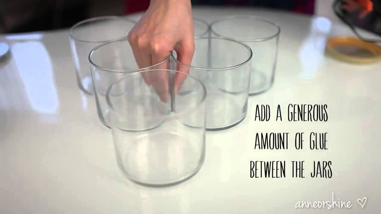 DIY Candle Jar Organizer Ideas to Upcycle Bath Body Works Jars