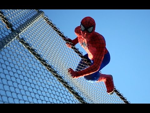 Thumbnail: The Amazing Spider-Man in San Diego - Real Life Parkour Stunts | DoubleAVideo