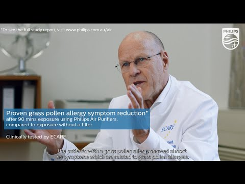 Proven allergy symptom reduction (Tested by ECARF) | Philips | Air Purifier | AC4012, AC4372, AC4025