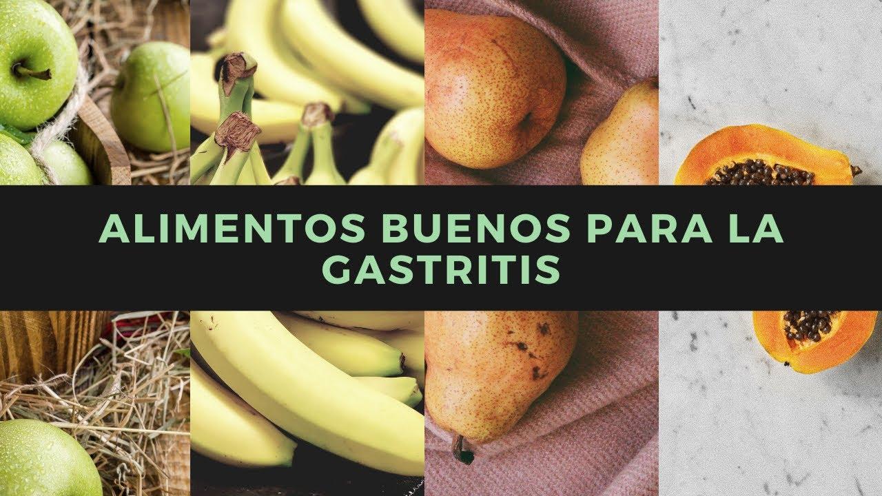 Frutas buenos para la gastritis