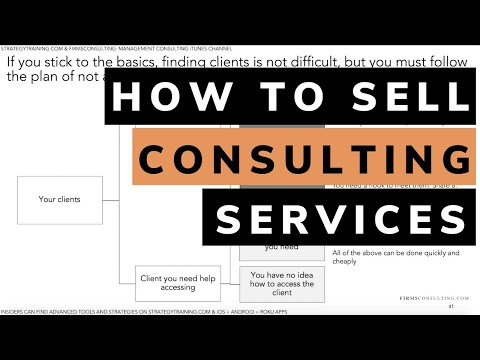 How to sell consulting services | secrets to selling high priced consulting services