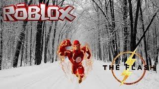 Flashing Threw The Road    Roblox The Flash (Alpha)