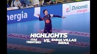HIGHLIGHTS - Itas Trentino VS Emma Villas Siena - 1 round 1st half