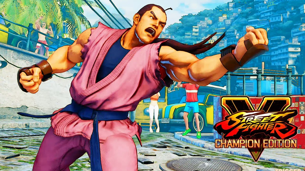 Image result for Street Fighter V Champion Edition dan 1280x720