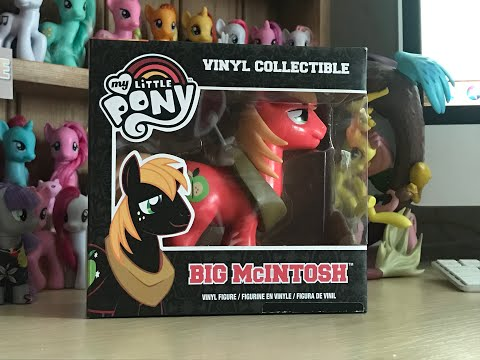 My Little Pony Funko Vinyl Collectible Big Mcintosh/Big Mac Review. WE LOVE FUNKO!!!