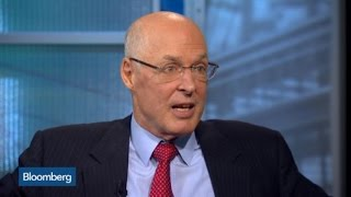 Hank Paulson: Banking Is Noble, Should Not Be Demonized