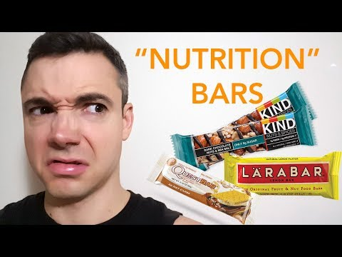 "Review: ""Nutrition"" Bars + 'Healthy"" Snacks"