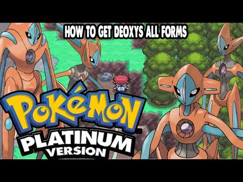 Pokemon Platinum - How To Get All Deoxys Forms