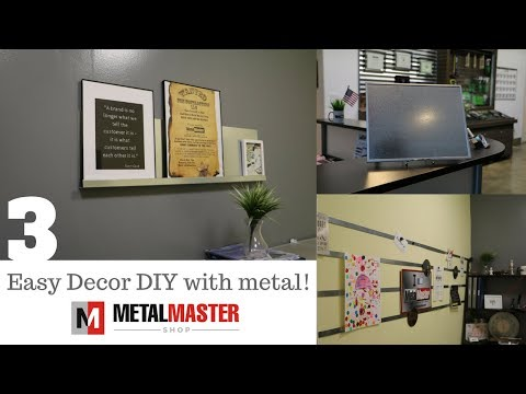 3 Clever DIY Projects with scrap metal