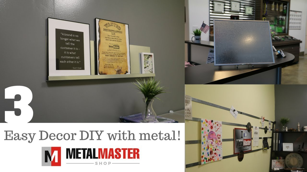 3 Clever DIY Projects with scrap metal - YouTube