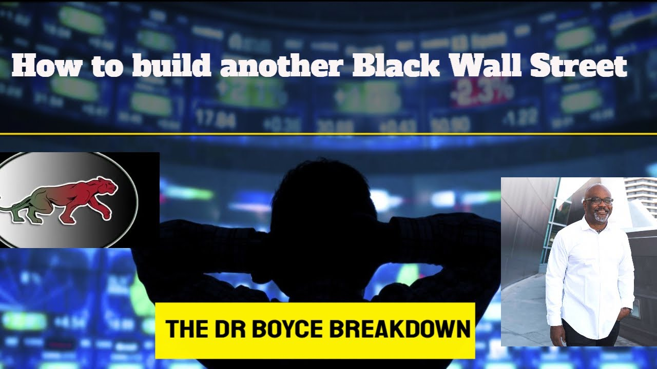 How to build your own Black Wall Street