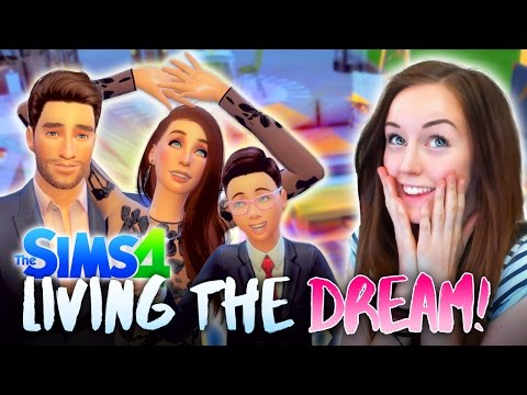 😎LIVING IN DREAM HOUSE!! (plus possible PREGNANCY?!🍼)  (The Sims 4 #14! 🏡)