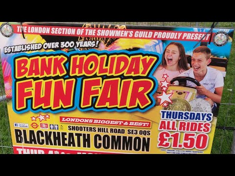 Blackheath Common Easter Funfair, Greenwich London