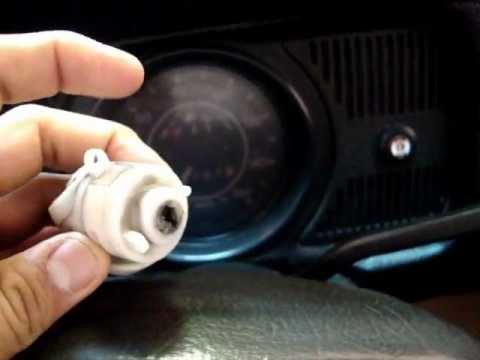 Falla de arranque por pastilla de arranque (VW Sedan ...