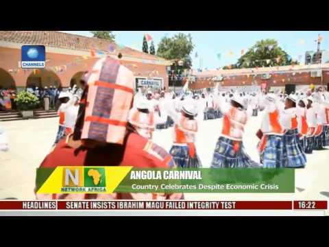 Angola Celebrates Carnival Despite Economic Crisis