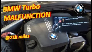 BMW Turbo Wastegate MALFUNCTION