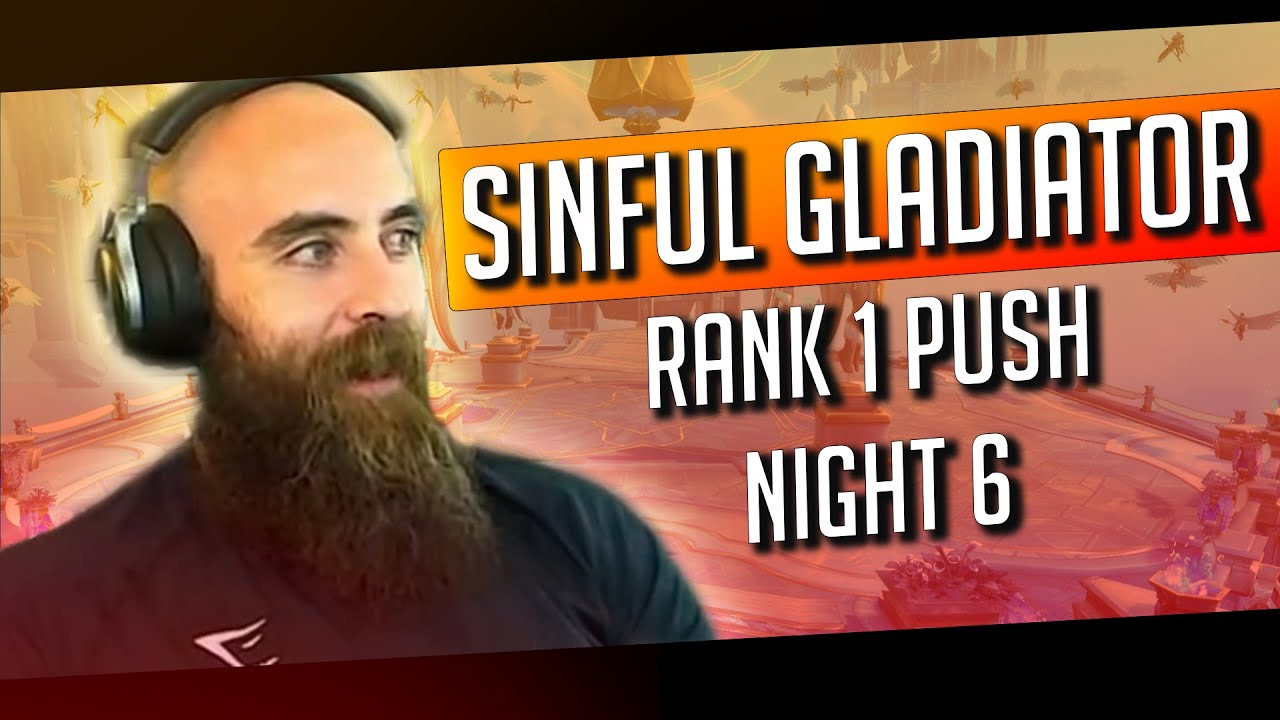 Sinful Gladiator Rank 1 Push (Ep. 6) ft. Vanguards & Ronpaul - WoW Shadowlands Arms Warrior PvP